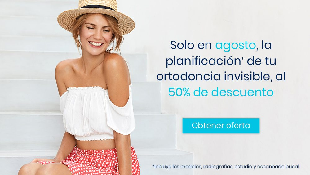 Promoción ortodoncia invisible